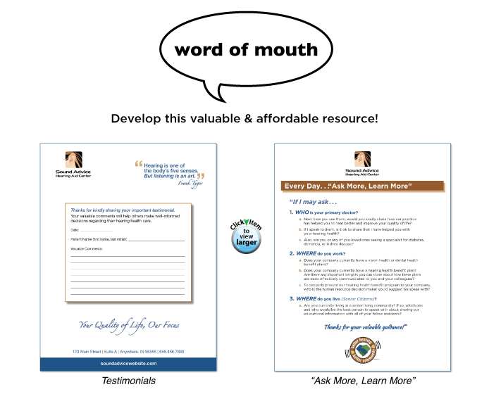 Premise Indicator Words: Word Of Mouth